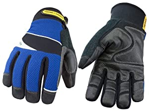 Youngstown Glove 08-3085-80-L Waterproof Winter Glove Lined with Kevlar Large