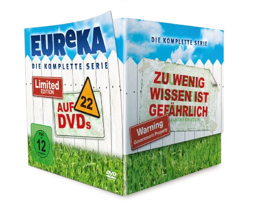EUReKA - Gesamtbox (22 Discs) [Limited Edition]