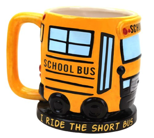 Big Mouth Toys I Ride The Short Bus Mug