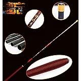Stream Fishing Rod Carbon Fiber Telescopic Fishing Rod Ultra Light Carp Fishing Pole 691(2.7m)