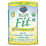 Garden of Life Organic Meal Replacement - Raw Organic Fit Vegan Nutritional Shake for Weight Loss, 14oz (396g) Powder