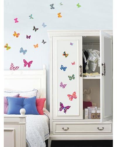 Ambiance Live Vinile Decorativo 25 pezzi Butterflies decals