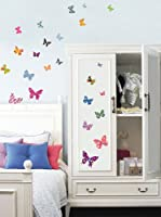 Ambiance Sticker Vinilo Decorativo 25 Piezas Butterflies Decals