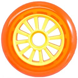 YAK Scooter Wheel Orange-Yellow 100mm