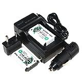 Caméra rechargeable NP-MU 2Pcs BX1 NP BX1 NPBX1 1500mAh Li-ion Chargeur de batterie + Voiture + Chargeur pour Sony DSC-RX100 RX100 HDR-AS15...