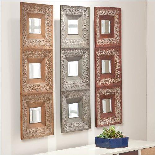 Southern Enterprises Medina 3 Piece Mirror Set