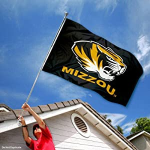 Buy Missouri Tigers Mizzou University Large College Flag by College Flags and Banners Co.