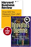 "The Innovators Dilemma with Award-Winning Harvard Business Review Article ""How Will You Measure Your Life?"""