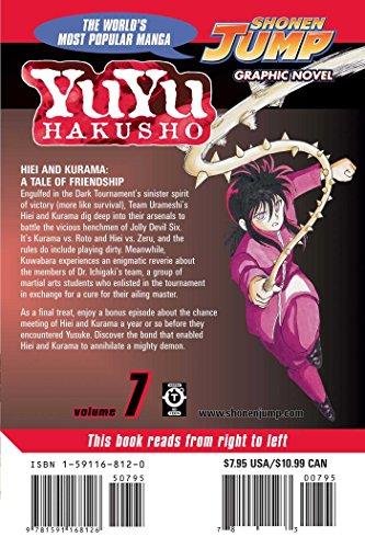 YU YU HAKUSHO GN VOL 07 (Yuyu Hakusho (Graphic Novels))