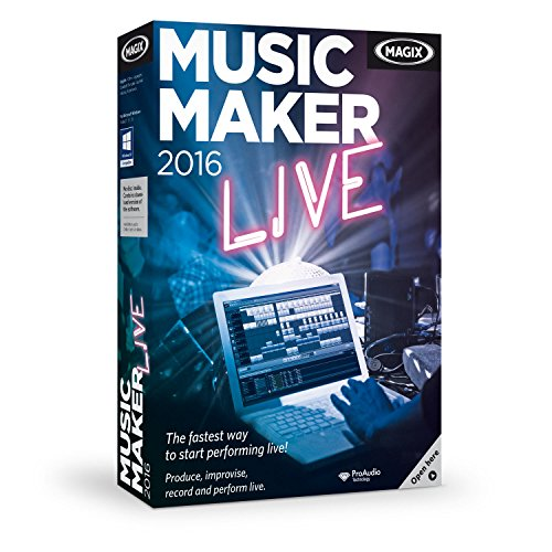 MAGIX Music Maker 2016 Live (Beat Maker Equipment compare prices)