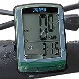 OutdoorMaster JUNSD Bike Computer, Waterproof Multifunction Cycling Speedometer (Green) OutdoorMaster
