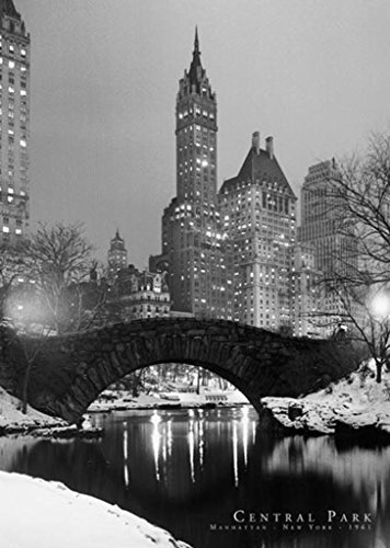 New York City (Central Park, 1961) Art Poster Print - 24
