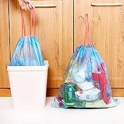 Saver Random Color Stringing Thicken Kitchen Household Automatic Trash Can Bin Rubbish Garbage Plastic Bag