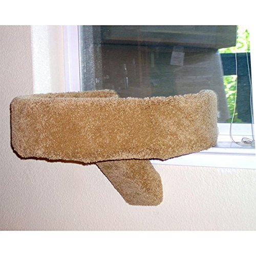 Tub Sleeper Cat Window Perch (Beige)