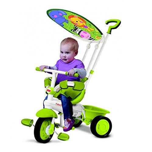 Fisher Price FP1461133 - Triciclo Classic Plus, Verde
