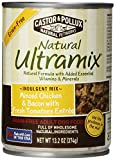 Natural Ultramix Minced Chicken & Bacon with Fresh Tomatoes Entree Grain-Free for Adult Dogs, 13.2-Ounce Cans (Pack of 12)