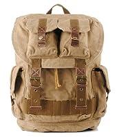 Vintage Casual Canvas Outdoor School Rucksack Backpack