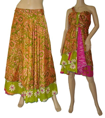 Magic Wrap/ Skirt /Dress/ Top One Size Made In India Sale!!!!