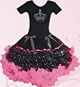 POPATU -Black Crown PettiDress