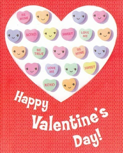 One Card Greeting Card Valentine's Day