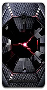 The Racoon Grip lightningdroid hard plastic printed back case / cover for Asus Zenfone 6