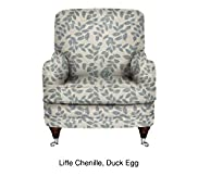 Club Chair - Pewter Effect Feet