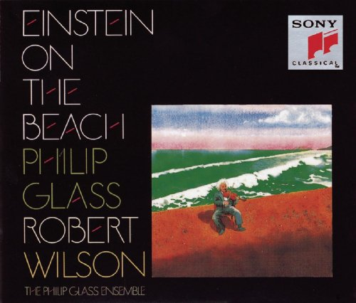 Original album cover of Glass: Einstein On The Beach by Philip Glass