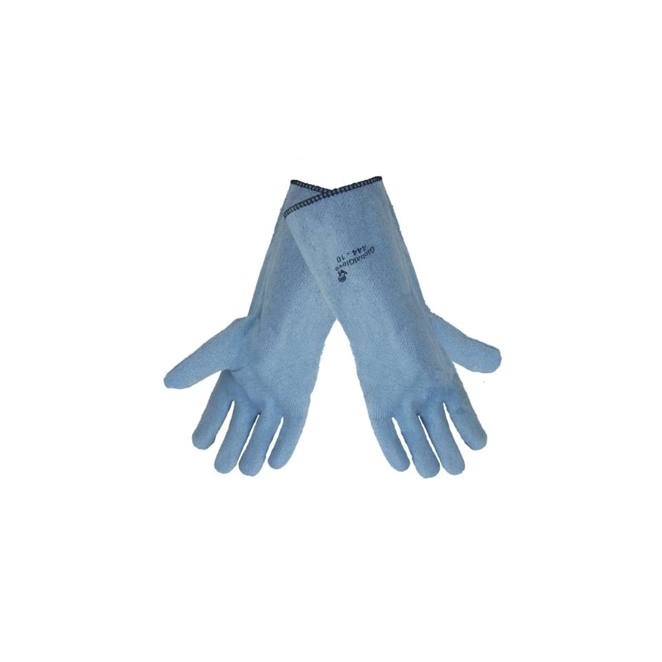 Global Glove 444 Nitrile Heat Handling Glove, High Temperature, 14 Length, Extra Large (Case of 144)