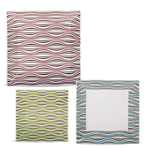 Karim Rashid Collection Porcelain Dinnerware Set With 12 Pieces - Kurdle