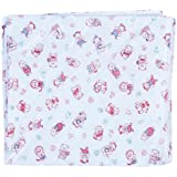 Advance Baby Stuff Jam White With Red Print Plastic Sheet - Extra Large (White)