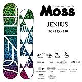 16-17 MOSS モス スノーボード JENIUS ジーニアス キッズ (JENIUS, 130)