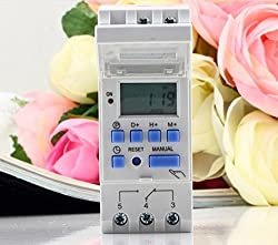 Multipurpose Digital Weekly & Daily Programmable Electronic Timer Switch
