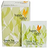Happy Valley Organic Darjeeling Green Tea Bags - Pack Of 4 (25 Tea Bags Each)