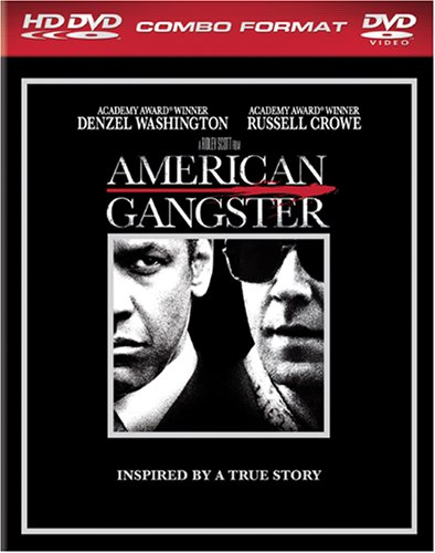 Cover art for  American Gangster (Combo HD DVD and Standard DVD) [HD DVD]