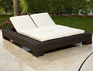 Source Outdoor King Chaise Lounge Chair Standard Patio Lounge