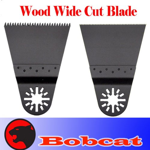 2 Japan / Fine Wide Tooth Fast Cut Wood Oscillating Multi Tool Saw Blade For Fein Multimaster Bosch Multi-X Craftsman Nextec Dremel Multi-Max Ridgid Dremel Chicago Proformax Blades