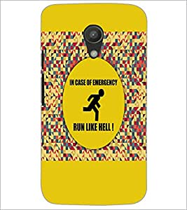 PrintDhaba Quote D-3524 Back Case Cover for MOTOROLA MOTO G2 (Multi-Coloured)