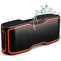 AOMAIS Sport II Portable Waterproof Wireless Bluetooth Speakers (Orange)