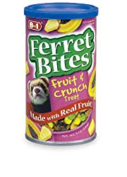 8in1 Ferret Fruit & Crunch Treats, 5-Ounce