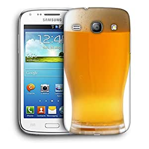 Snoogg Cold Beer Designer Protective Back Case Cover For Samsung Galaxy Core