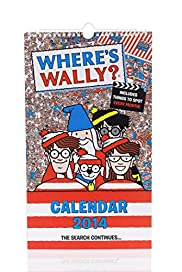 Where's Wally Slim 2014 Calendar [T21-3503A-S]