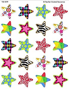 Teacher Created Resources Fancy Stars Stickers (5179)