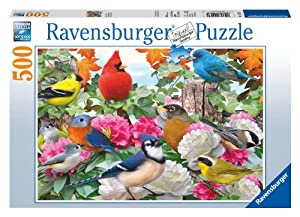 Garden Birds 500 Piece Puzzle