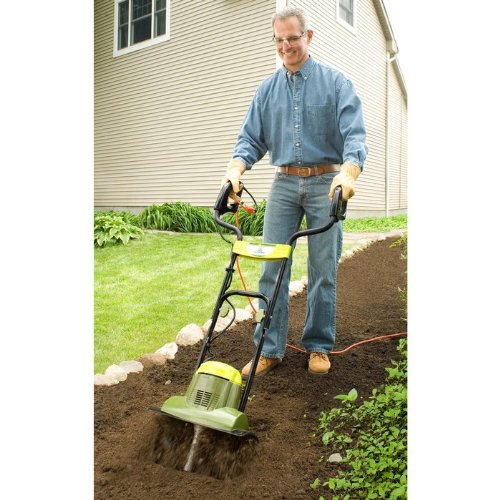 Best Review Of Sun Joe TJ600E Tiller Joe Garden 14-Inch 6.5 amp Electric Tiller/Cultivator