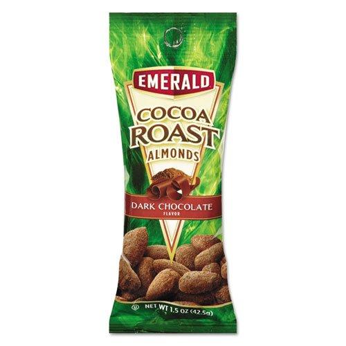 Emerald - Cocoa Roast Almonds, 1.5 Oz. Tube Package, 12/Box 84337 (Dmi Bx