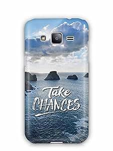 YuBingo Take Chances Designer Mobile Case Back Cover for Samsung Galaxy J2