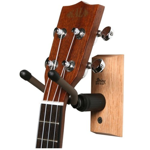 String Swing CC01UK Hardwood Home and Studio Ukulele/Mandolin Hanger