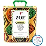 Zoe Organic Extra Virgin Olive Oil, 88 oz