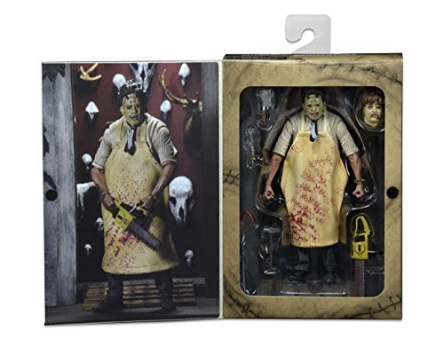 """NECA Texas Chainsaw Massacre - 7"""" Scale Action Figure - 40th Anniversary Ultimate Leatherface"""