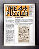 img - for The Four-Star Puzzler - August, 1982: Issue20. Puzzles from Games Magazine: Anacrostic (Acrostic), Crosswords, Cryptic, Cryptograms, Logic, more. book / textbook / text book